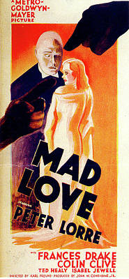 Royalty-Free and Rights-Managed Images - Mad Love poster by Stars on Art