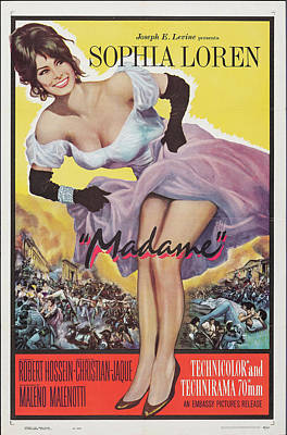 Royalty-Free and Rights-Managed Images - Madame - 1963 by Stars on Art
