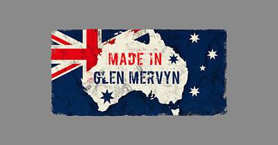 Gold Pattern - Made in Glen Mervyn, Australia by TintoDesigns