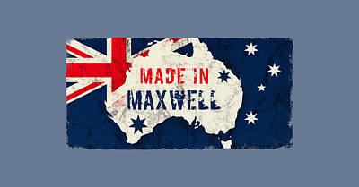 Christmas Christopher And Amanda Elwell - Made in Maxwell, Australia by TintoDesigns