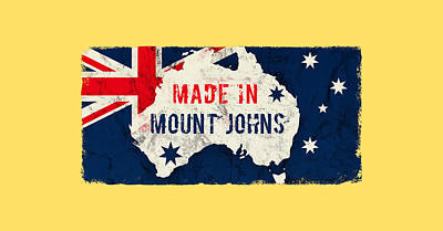 Royalty-Free and Rights-Managed Images - Made in Mount Johns, Australia by TintoDesigns