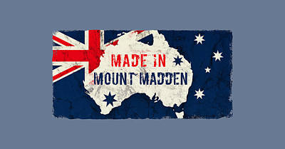 Curated Round Beach Towels - Made in Mount Madden, Australia by TintoDesigns