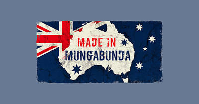 College Town Rights Managed Images - Made in Mungabunda, Australia Royalty-Free Image by TintoDesigns