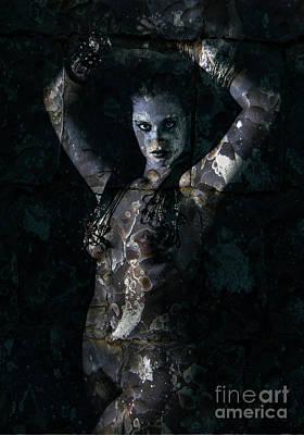 Photograph - Maid of Stone by Simon Pocklington