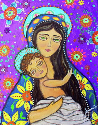 Royalty-Free and Rights-Managed Images - Madonna and Child by Pristine Cartera Turkus