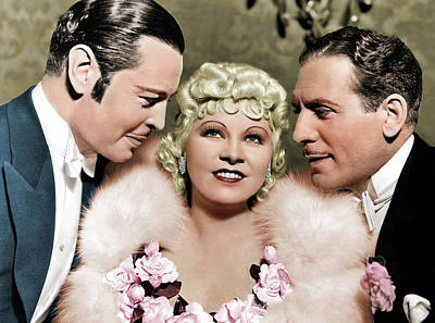 Royalty-Free and Rights-Managed Images - Mae West in Goin to Town 1935 by Stars on Art