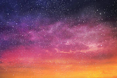 Royalty-Free and Rights-Managed Images - Magic color sky background by Julien