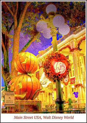 Polaroid Camera - Magic Kingdom Halloween by A Macarthur Gurmankin