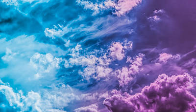 Royalty-Free and Rights-Managed Images - Magical dream, nature backdrop and spiritual holiday concept - Dreamy surreal sky as abstract art, fantasy pastel colours background modern design by Julien