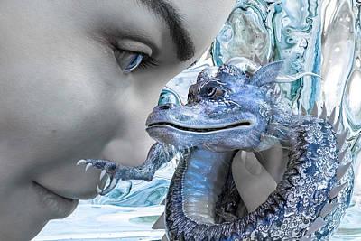 Surrealism Digital Art - Magical Realm  by Betsy Knapp