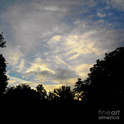 Frank J Casella Royalty-Free and Rights-Managed Images - Magnificence in the Sky  by Frank J Casella