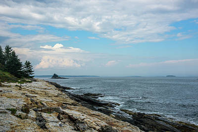 Namaste With Pixels - Maine Coast by Ralph Staples