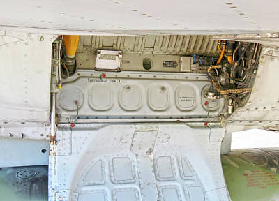 Studio Grafika Science - Maintenance Hatch Of MG-135 by Johanna Hurmerinta