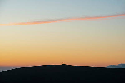Anne Geddes - Majestic landscape image at sunset over Dartmoor National Park i by Matthew Gibson