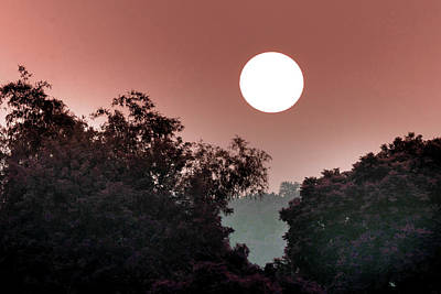 Surrealism Royalty Free Images - Majestic Sunset 25 -  - Surreal Art by Ahmet Asar Royalty-Free Image by Celestial Images
