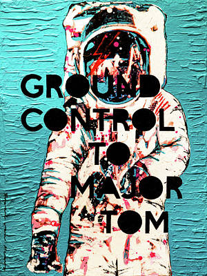 Painting - Ground Control to Major Tom by Frank Van Meurs