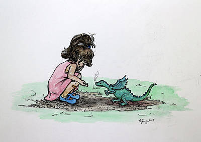 Painting - Making New Friends by Heather Young