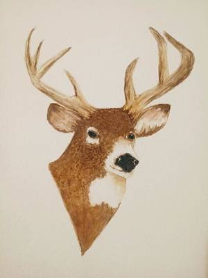 Truck Art Rights Managed Images - Male Deer Royalty-Free Image by Michael Vigliotti