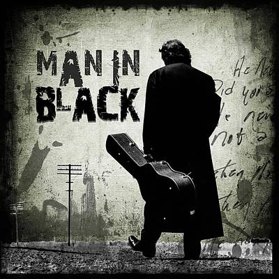 Truck Art - Man In Black Johnny Cash by Unknown Artist