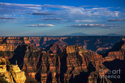 Royalty-Free and Rights-Managed Images - Man on the The Edge of The Grand Canyon, Arizona by Diane Diederich