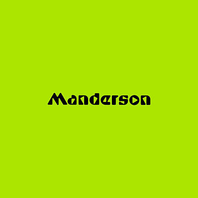 Royalty-Free and Rights-Managed Images - Manderson by TintoDesigns
