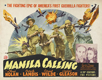 Royalty-Free and Rights-Managed Images - Manila Calling, 1942 by Stars on Art