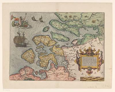 Beastie Boys - Map of Zeeland by Artistic Panda