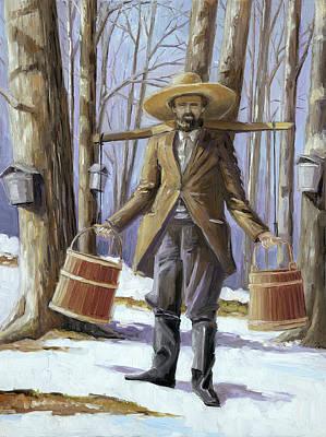 Painting - Maple Sugar by Paula McHugh
