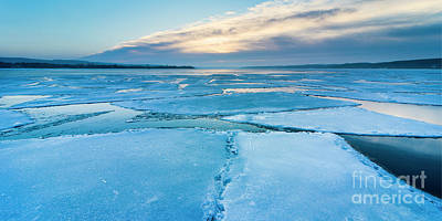 Royalty-Free and Rights-Managed Images - March Ice in Onekama by Twenty Two North Photography