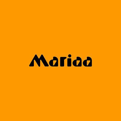 Digital Art - Mariaa by TintoDesigns