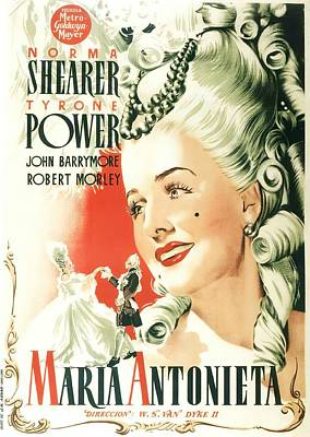 Royalty-Free and Rights-Managed Images - Marie Antoinette, 1938 - c by Stars on Art