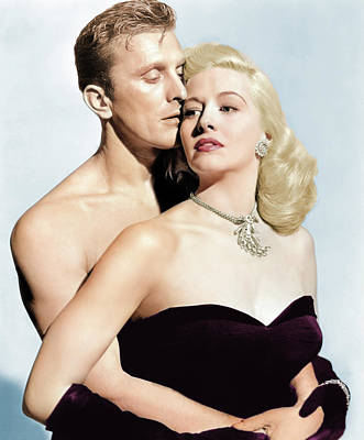 Royalty-Free and Rights-Managed Images - Marilyn Maxwell and Kirk Douglas by Stars on Art