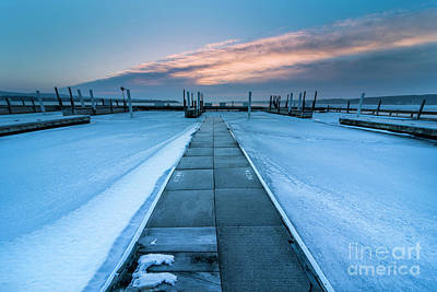 Royalty-Free and Rights-Managed Images - Marina in March by Twenty Two North Photography