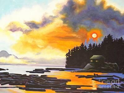 Painting - Marine Solitude 1 by Elissa Anthony