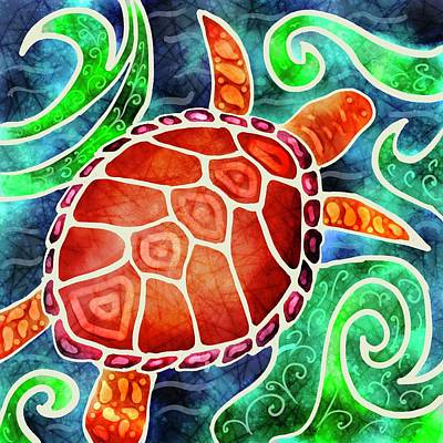 Photograph - Marine Turtle by Isabella Biava