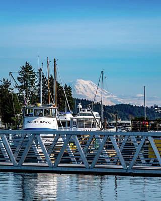 Royalty-Free and Rights-Managed Images - Maritime Mountain View by Clinton Ward