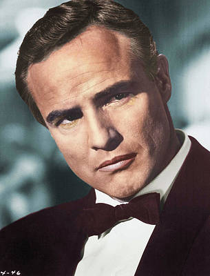 Sheep - Marlon Brando colorized by Stars on Art