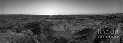 Surrealism Royalty Free Images - Mars Sunrise BW Royalty-Free Image by Michael Ver Sprill