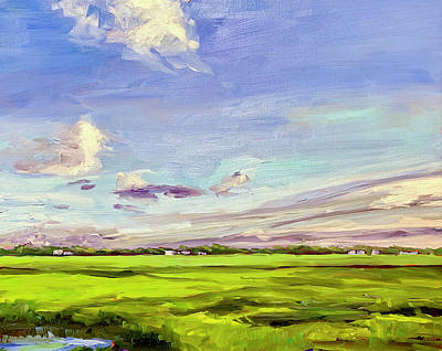 Painting - Marsh at St. James by Bart Levy
