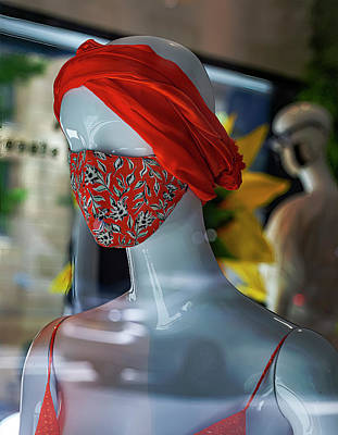Winter Animals Rights Managed Images - Masked Mannequin Royalty-Free Image by Robert Ullmann