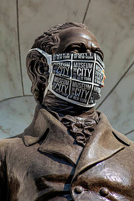 World Forgotten Rights Managed Images - Masked Statue Royalty-Free Image by Robert Ullmann