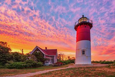 Amy Weiss - Massachusetts Lighthouse Nauset Beach Light by Juergen Roth