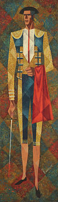 Painting - Matador by Stan Masters
