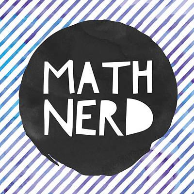 Studio Grafika Vintage Posters - Math Nerd by Brandi Fitzgerald