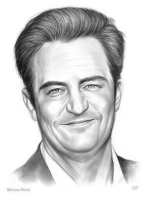 Drawings Royalty Free Images - Matthew Royalty-Free Image by Greg Joens