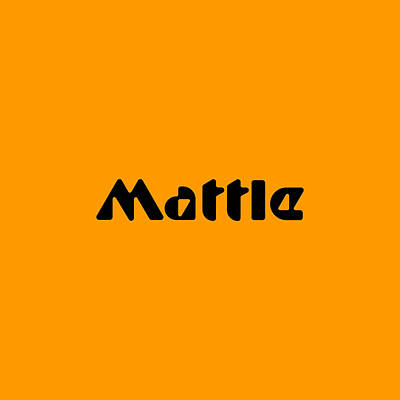 Digital Art - Mattle by TintoDesigns