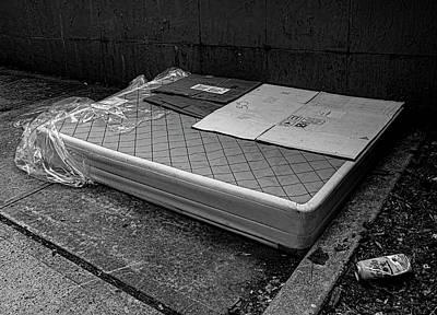 Lucille Ball - Mattress on Street by Robert Ullmann