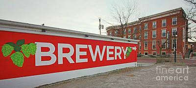 Studio Grafika Vintage Posters - Maumee Bay Brewing Company Toledo Ohio 5812 by Jack Schultz