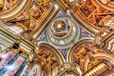 Comedian Drawings Rights Managed Images - Mdina Cathedral Malta  Royalty-Free Image by David Pyatt