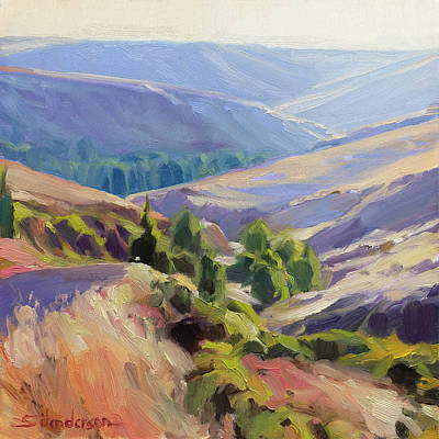 Royalty-Free and Rights-Managed Images - Meandering Landscape by Steve Henderson